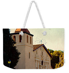 Weekender Tote Bag featuring the photograph Mission Santa Clara - California by Glenn McCarthy Art and Photography