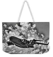 Mission-strategic Airlift Weekender Tote Bag by Douglas Barnard