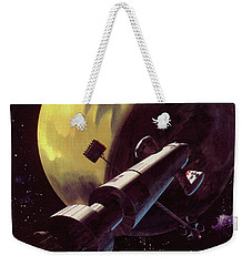 Mission To Mars Weekender Tote Bag by Wilf Hardy
