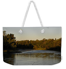 Mississippi River Morning Glow Weekender Tote Bag by Kent Lorentzen