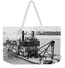 Weekender Tote Bag featuring the photograph Mississippi River Snag Boat by Granger