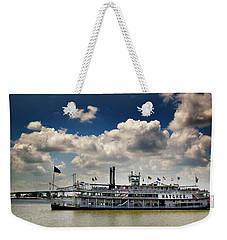 Mississippi Riverboat Weekender Tote Bag