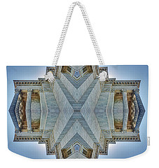 Weekender Tote Bag featuring the photograph Missouri Capitol - Abstract by Nikolyn McDonald
