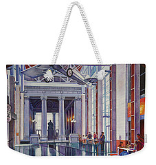 Weekender Tote Bag featuring the painting Missouri History Museum by Michael Frank