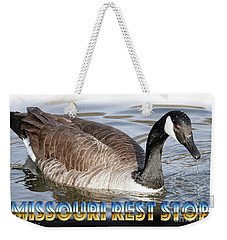 Missouri Rest Stop Weekender Tote Bag