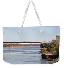Missouri River At Boonville Weekender Tote Bag