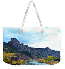 Missouri River Colors Weekender Tote Bag