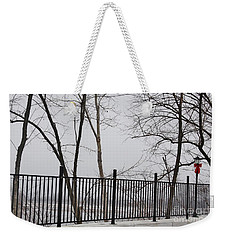 Missouri River Fence Weekender Tote Bag