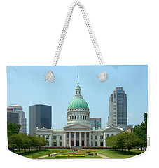 Missouri State Capitol Building Weekender Tote Bag by Mike McGlothlen