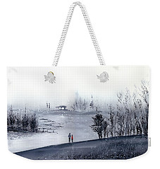 Mist Weekender Tote Bag