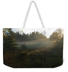 Mist In The Meadow Weekender Tote Bag