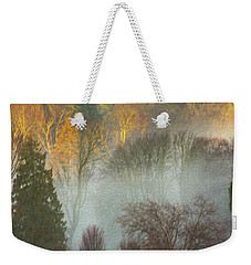 Mist In The Park Weekender Tote Bag
