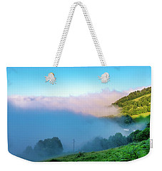 Weekender Tote Bag featuring the photograph Mist In Tineo by Fabrizio Troiani