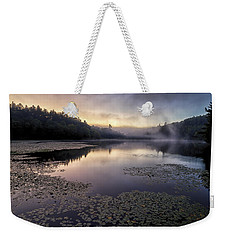 Bass Lake Sunrise - Blue Ridge Parkway Weekender Tote Bag