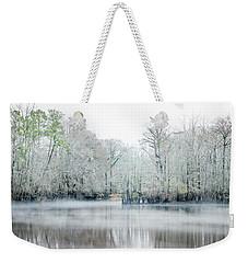 Mist On The River Weekender Tote Bag