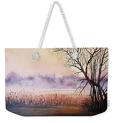 Mist On The River Weekender Tote Bag