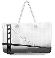 Mist Over Golden Gate Weekender Tote Bag