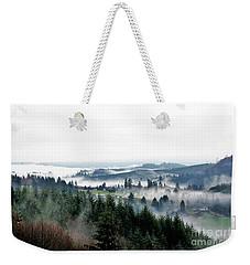 Mist Rising Weekender Tote Bag