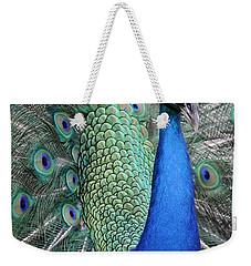 Mister Peacock Weekender Tote Bag
