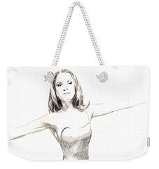 Misty Ballerina Dancer II Weekender Tote Bag
