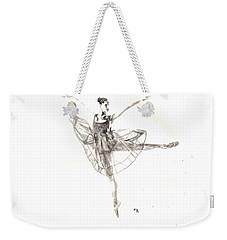 Misty Ballerina Dancer IIi Weekender Tote Bag