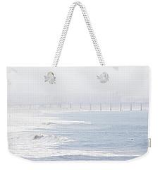 Misty Beach Morning  Weekender Tote Bag by Nicholas Burningham