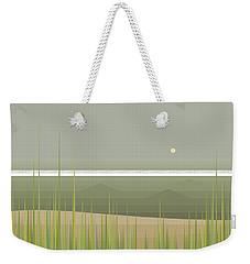 Misty Beach Weekender Tote Bag