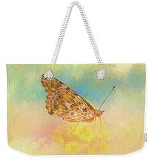 Misty Butterfly Weekender Tote Bag
