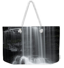Misty Canyon Waterfall Weekender Tote Bag