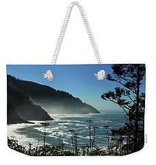 Misty Coast At Heceta Head Weekender Tote Bag