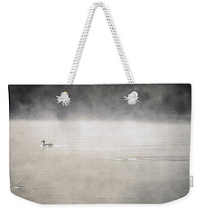 Misty Duck Weekender Tote Bag