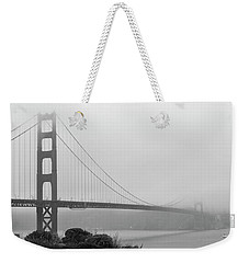 Misty Golden Gate Weekender Tote Bag