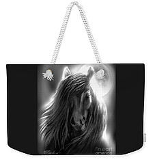 Misty Moonlight Weekender Tote Bag by Patricia L Davidson