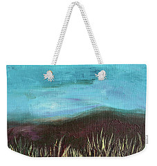 Misty Moors Weekender Tote Bag by Donna Blackhall