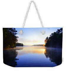 Misty Morining Weekender Tote Bag