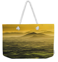 Misty Morning At Palouse. Weekender Tote Bag