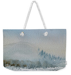 A Misty Morning Weekender Tote Bag
