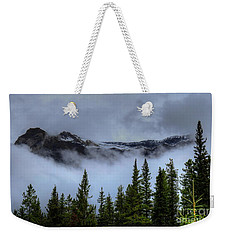 Misty Morning Jasper National Park Weekender Tote Bag