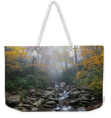 Misty Morning Magic Weekender Tote Bag