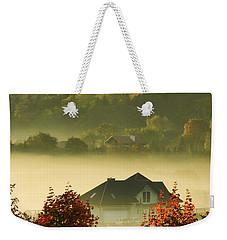 Misty Morning Weekender Tote Bag by Mariola Bitner