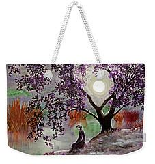 Misty Morning Meditation Weekender Tote Bag by Laura Iverson