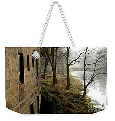 Misty Morning On The Illinois Michigan Canal  Weekender Tote Bag