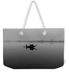 Misty Morning On The Lower Ganges Weekender Tote Bag
