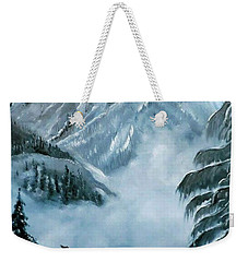 Misty Mountain Weekender Tote Bag