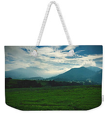 Misty Mountain Hop Weekender Tote Bag