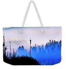 Misty Mountain Hop Weekender Tote Bag