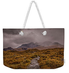 Misty Mountains #g8 Weekender Tote Bag