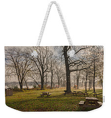 Misty November Picnic Grove Weekender Tote Bag