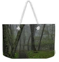 Misty Path Weekender Tote Bag