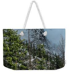 Misty Pinnacle Weekender Tote Bag